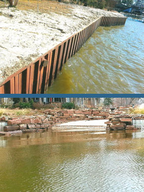 Retaining Walls Cedar Creek Lake, Gun Barrel City, Mabank, Seven Points, Tool, Malakoff, Athens, Kemp
